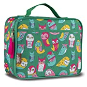 LONECONE Kids' Insulated Lunch Box - Cute Patterns for Boys and Girls, Whooooo's Hungry (Owls), Standard