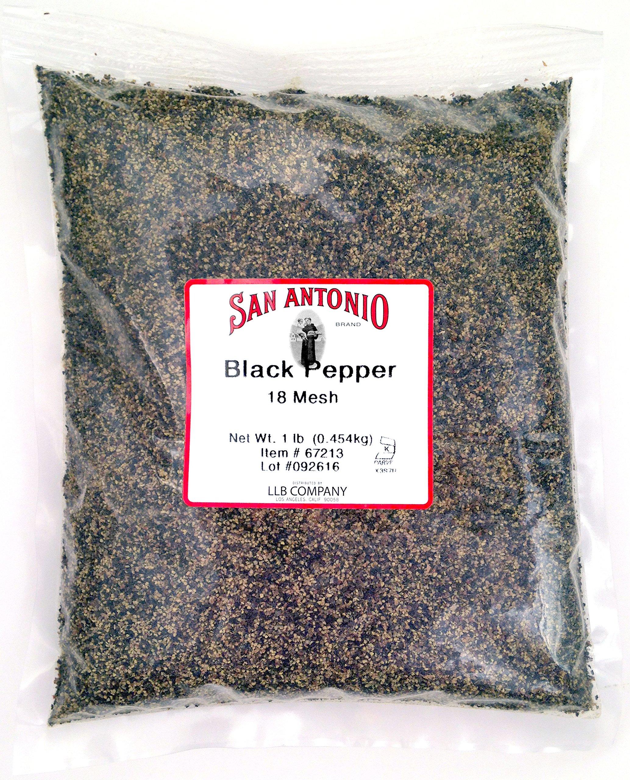 16 Ounce Premium Coarse Ground Black Pepper (18 Mesh)