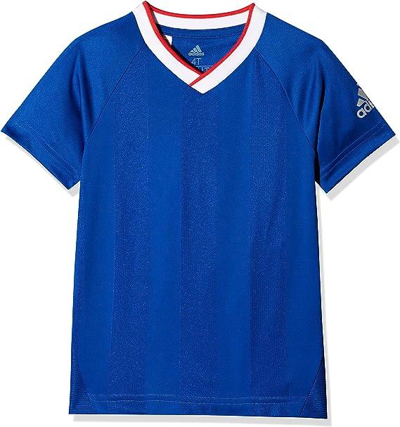 adidas LB Football tee Camisa de Golf, Unisex niños: Amazon.es: Ropa y accesorios