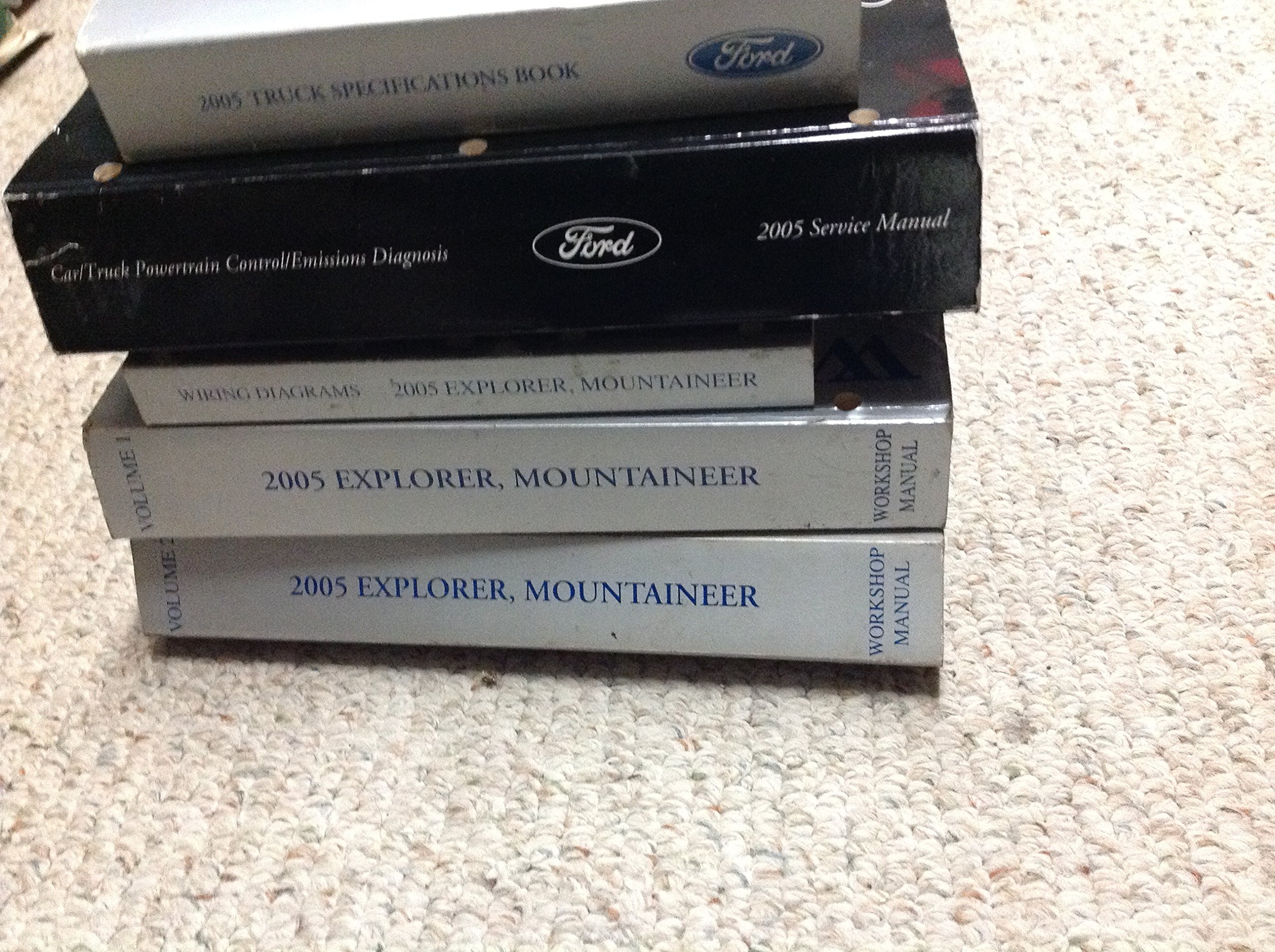 2005 ford explorer service manual