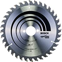 Bosch Daire Testere Bıçağı, Gri, 190x30x2,6 mm, 36, 1 Adet