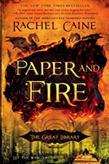 Paper and Fire (The Great Library) Paperback