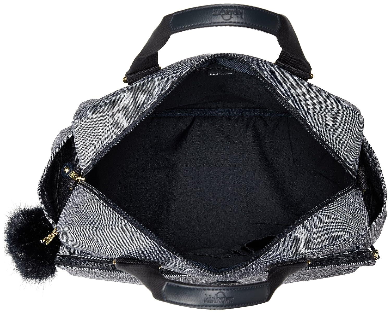 68a73de73 Kipling July Bag Bolsa de Viaje, 45 cm, 21 litros, Cotton Jeans: Amazon.es:  Equipaje