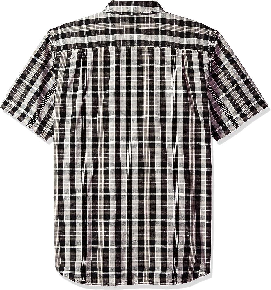 Carhartt - Camisa de Manga Corta para Hombre - Negro - Medium: Amazon.es: Ropa y accesorios