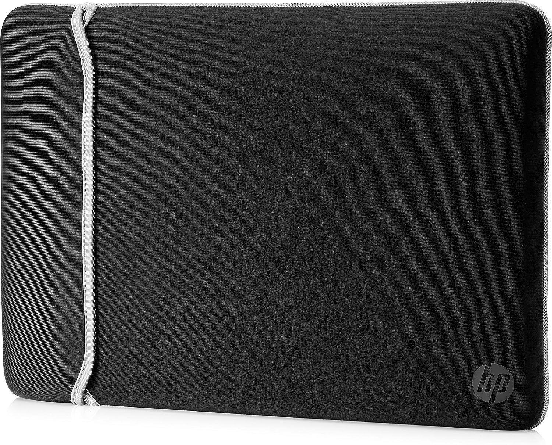 HP Neoprene Reversible Sleeve - Funda para portátil, 35.56 cm / 14