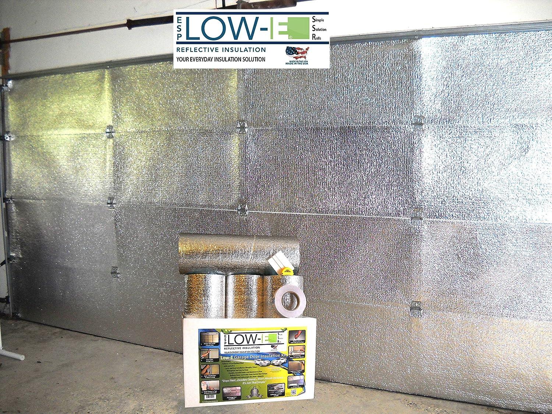 Esp low e ssr two car garage door16x7 insulation kit foil esp low e ssr two car garage door16x7 insulation kit foil interior finishincludes esp low e reflective foam core insulation 120 sq ft rubansaba