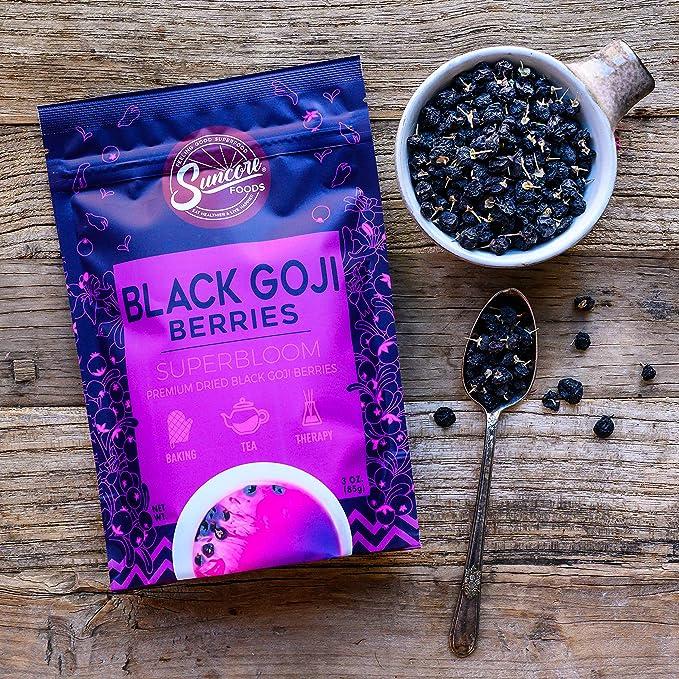 Amazon Com Suncore Foods Premium Dried Black Goji Berries