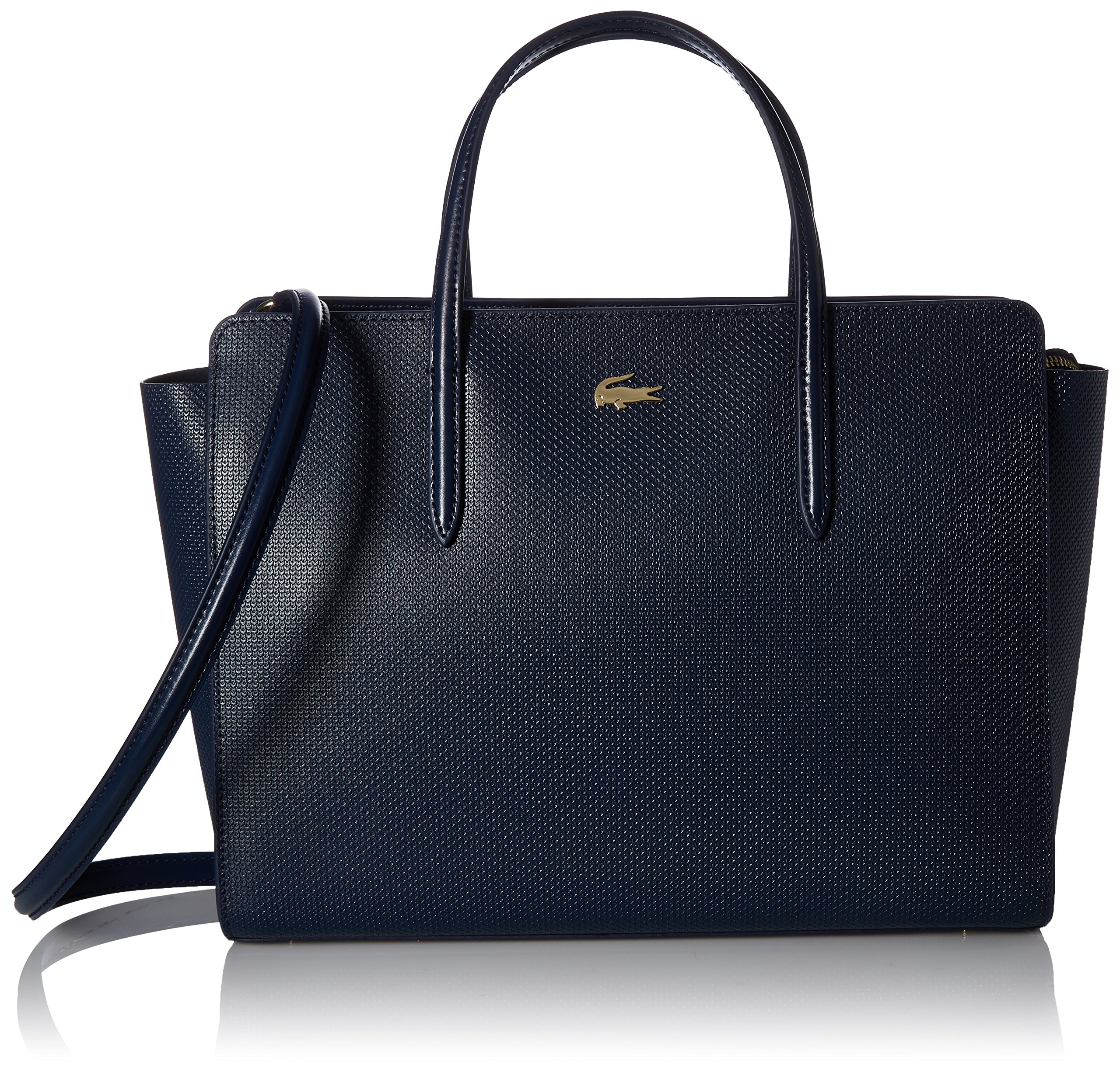 Lacoste Chantaco Shopping Bag, 021 Peacoat