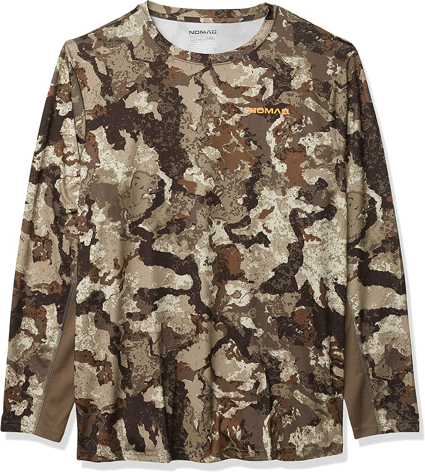 Nomad Men's Long Sleeve Cooling Tee | Hunting T-Shirt with UPF 30+ Sun Protection