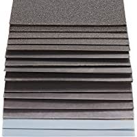 S&R Waterbestendig schuurpapierset, 60 stuks, schuurbladen, schuurpapier, voor droog polijsten en nat polijsten…