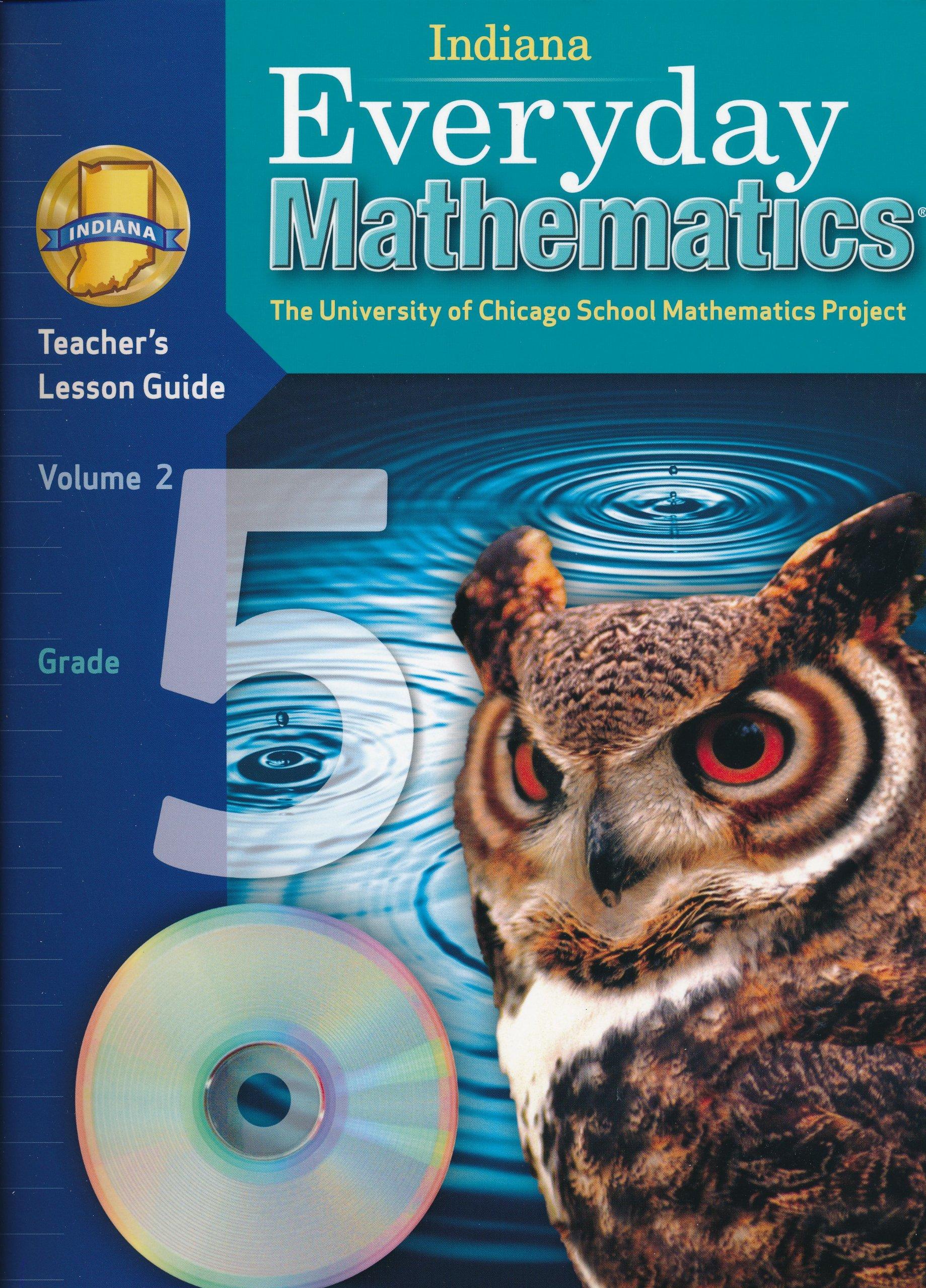 Download Indiana Everyday Mathematics Teacher's Lesson Guide Grade 5 Volume 2 PDF