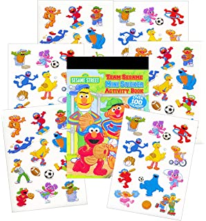 Amazon.com: Sesame Street Coloring Book Super Set with Sesame Street ...