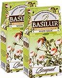 Basilur 2 Pack White Magic Loose Leaf Oolong Tea 3.5oz/100g Each