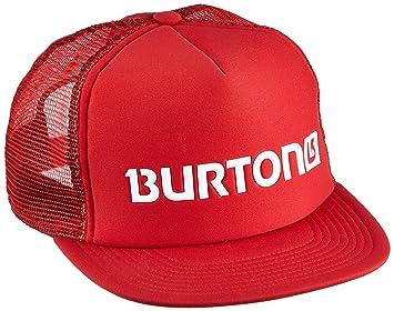 Burton Shadow Trkr - Gorra para Hombre, Hombre, Kappe Shadow Trkr, Rojo Marte