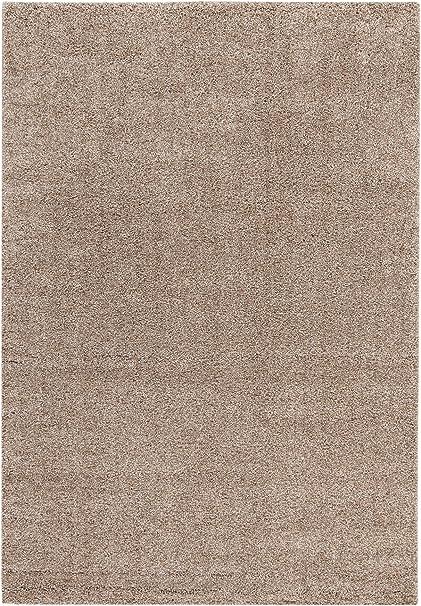 ABC Alfombra Shaggy Elegance Beige Oscuro 160 x 230 cm