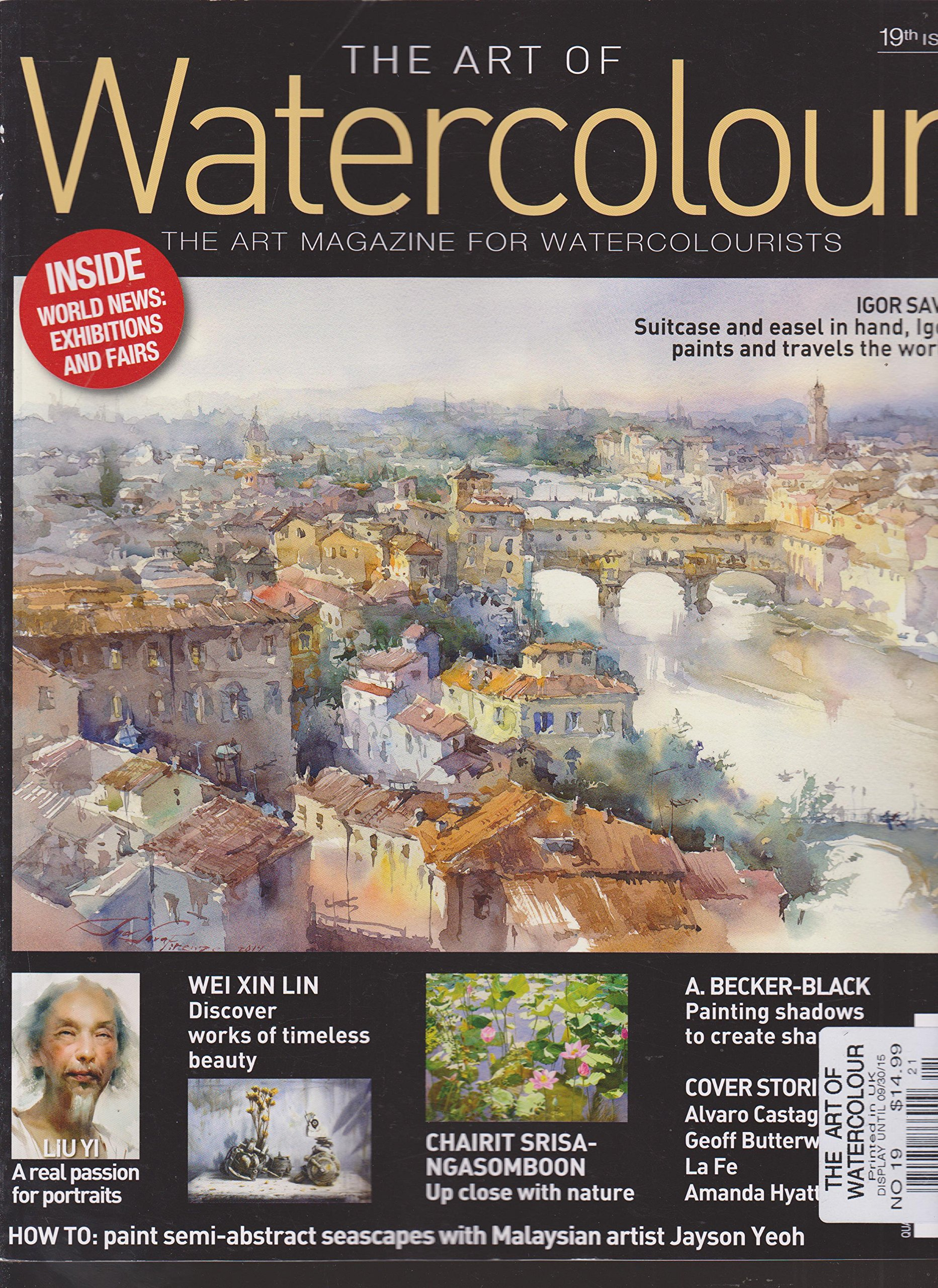 Read Online The Art of Watercolour Magazine Number 19 pdf