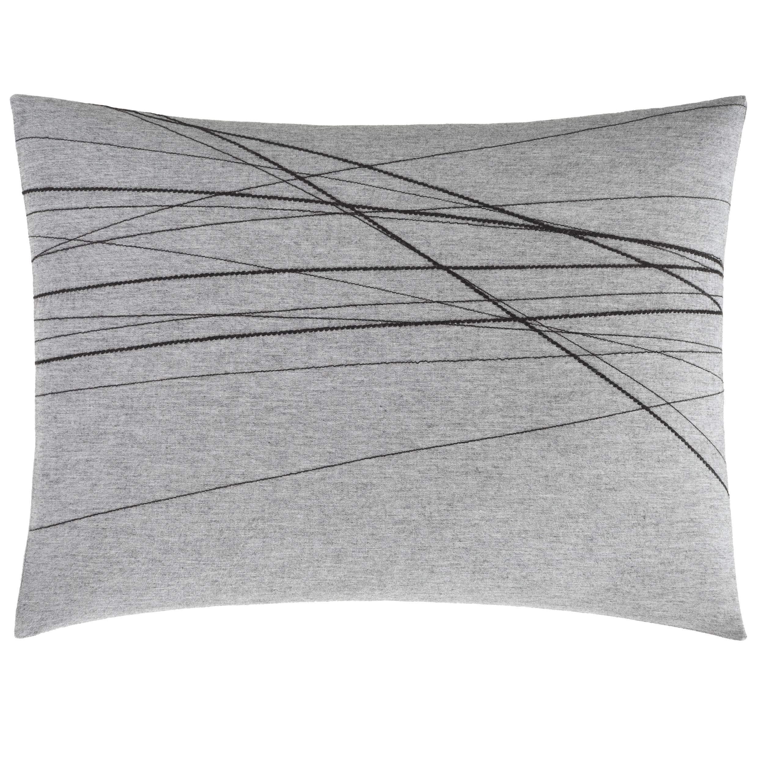 ED Ellen DeGeneres Boceto Throw Pillow, 15x20, Grey
