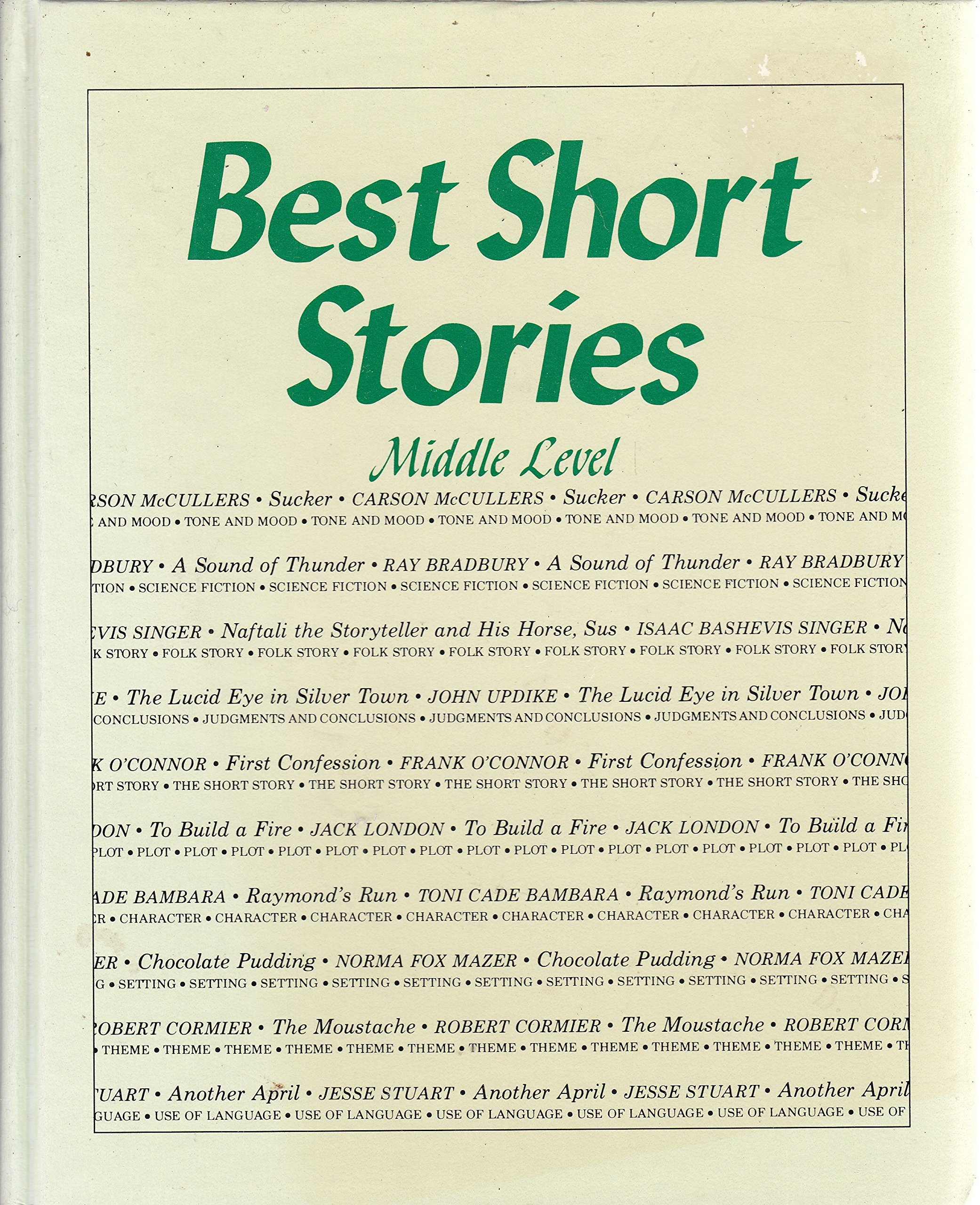 Best Short Stories, Middle Level (10 Stories for Young Adults - With