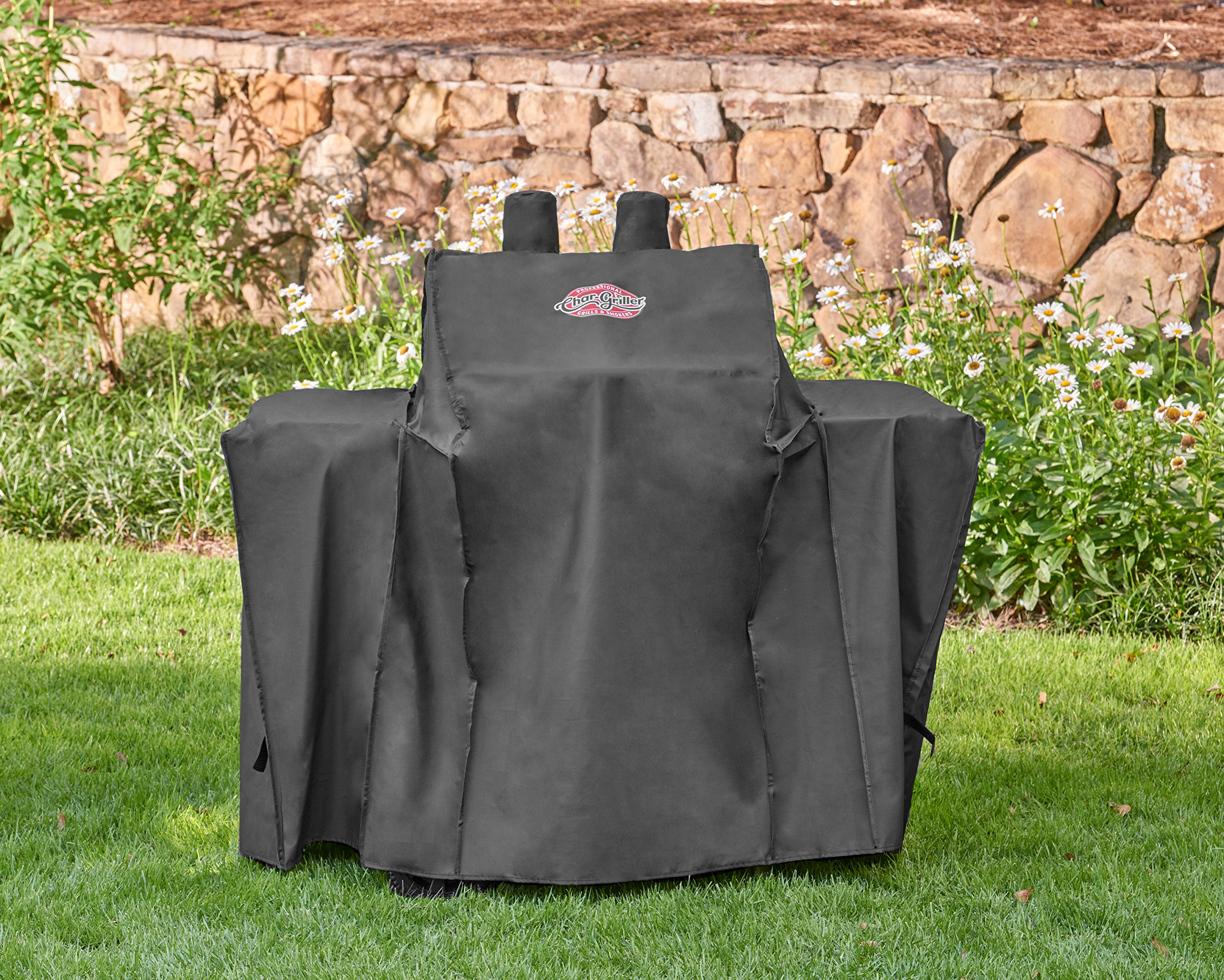 Char-Griller 3055 Grill Cover, Fits the Grillin' Pro 3001 and 3000