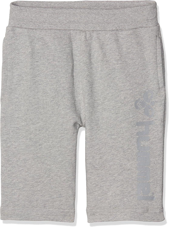 Grey Melange hummel Jungen Classic Bee Sweat Shorts 14-16