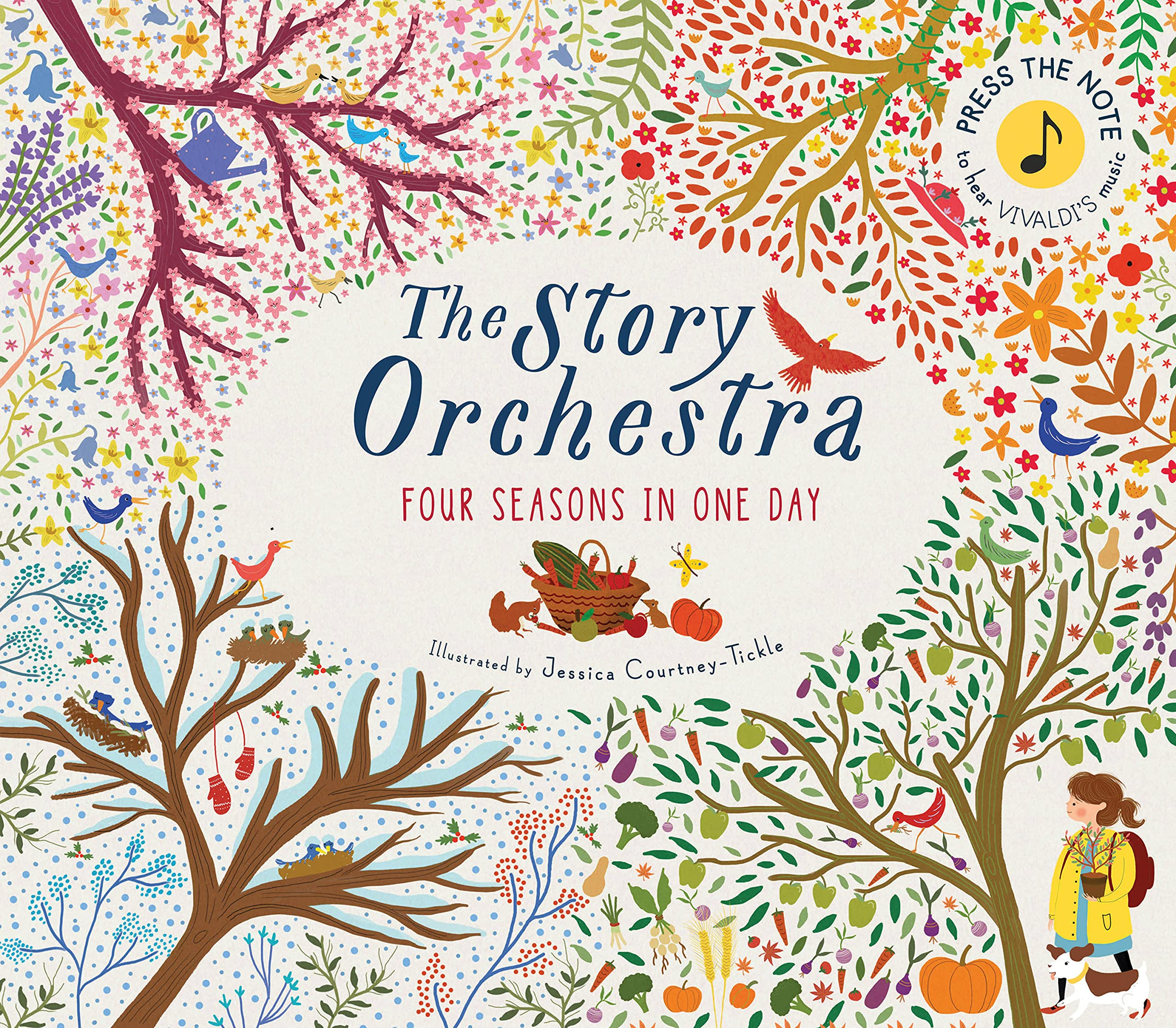 The The Story Orchestra: Four Seasons in One Day: Press the note to hear  Vivaldi's music: 1 : Courtney-Tickle, Jessica: Amazon.co.uk: Books