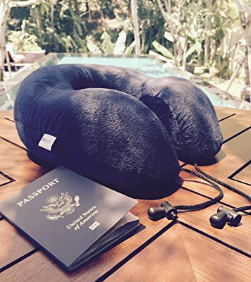MemorySoft Memory Foam Travel Pillow Review