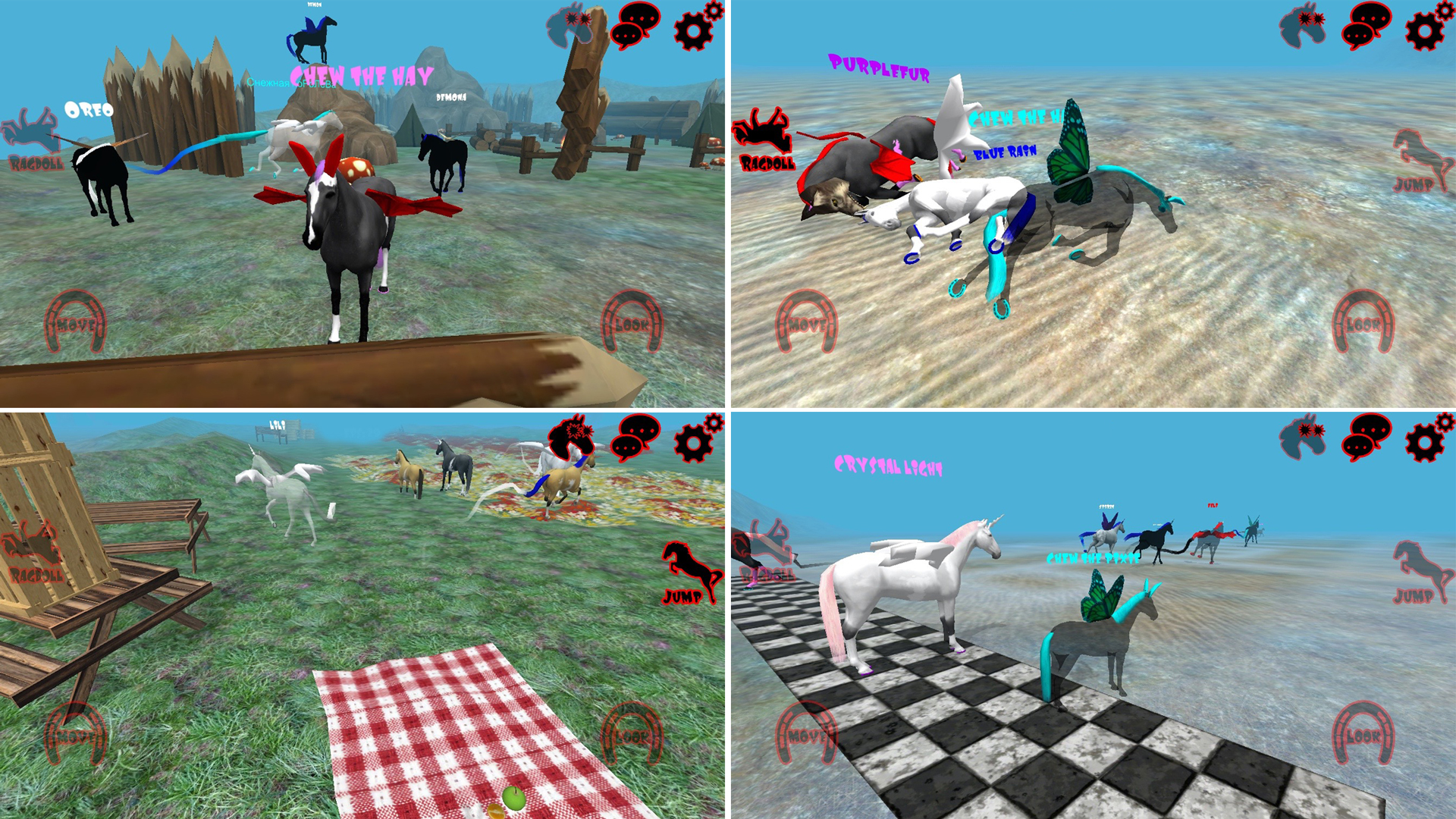 Hill Cliff Horse - Online Ragdoll Physics: Amazon ca