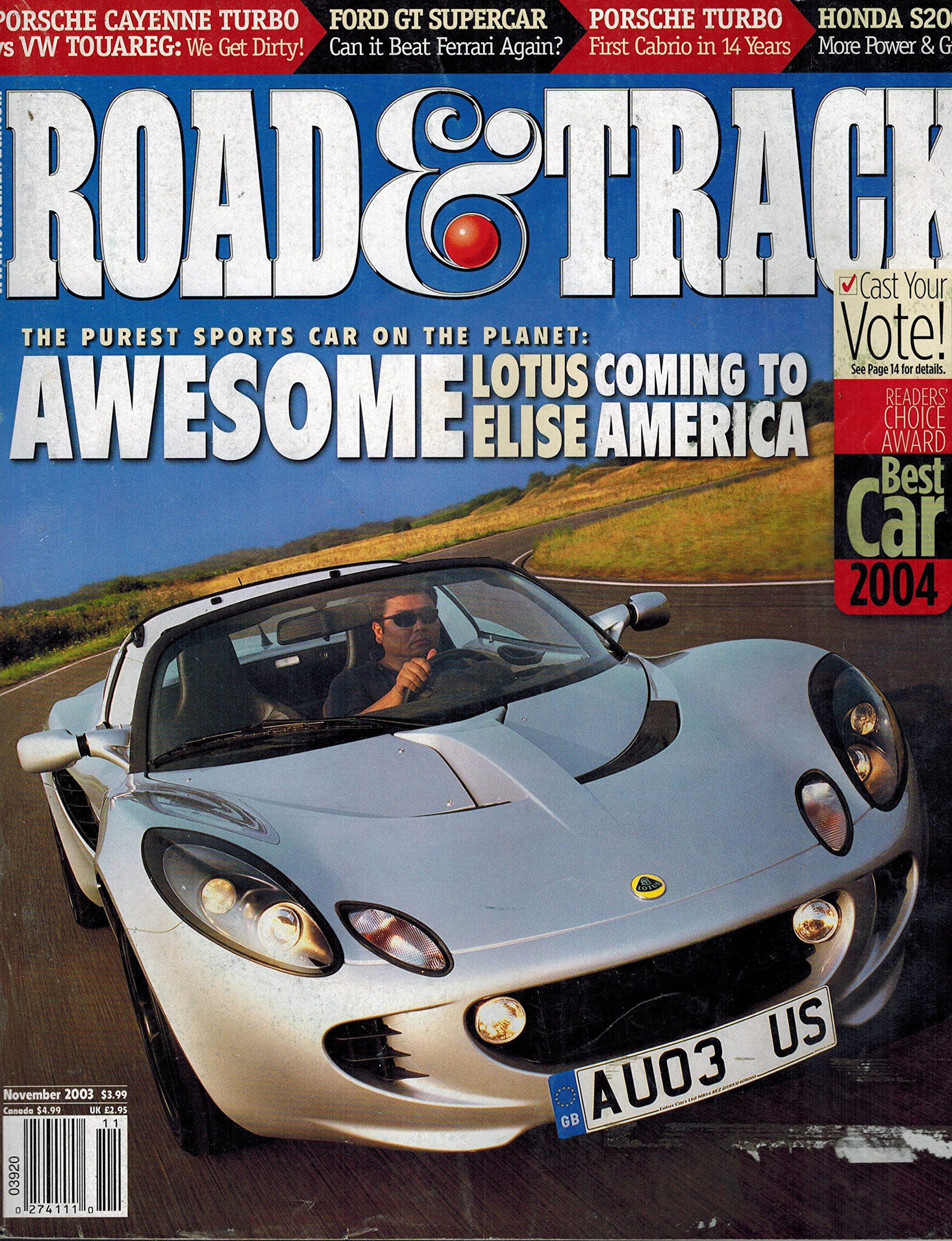 Download Road & Track: Vol. 55, No. 3, November 2003 PDF