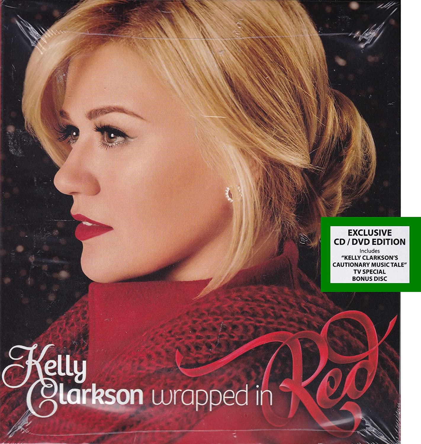 KELLY CLARKSON - Wrapped In Red CD+DVD - Amazon.com Music