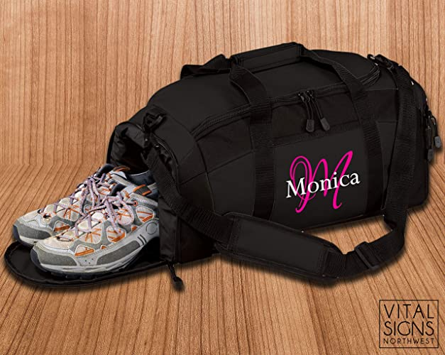 2f5bfd39bd Amazon.com: Gym Bag, Workout, Duffle bag, Cheer Bag, Dance bag ...