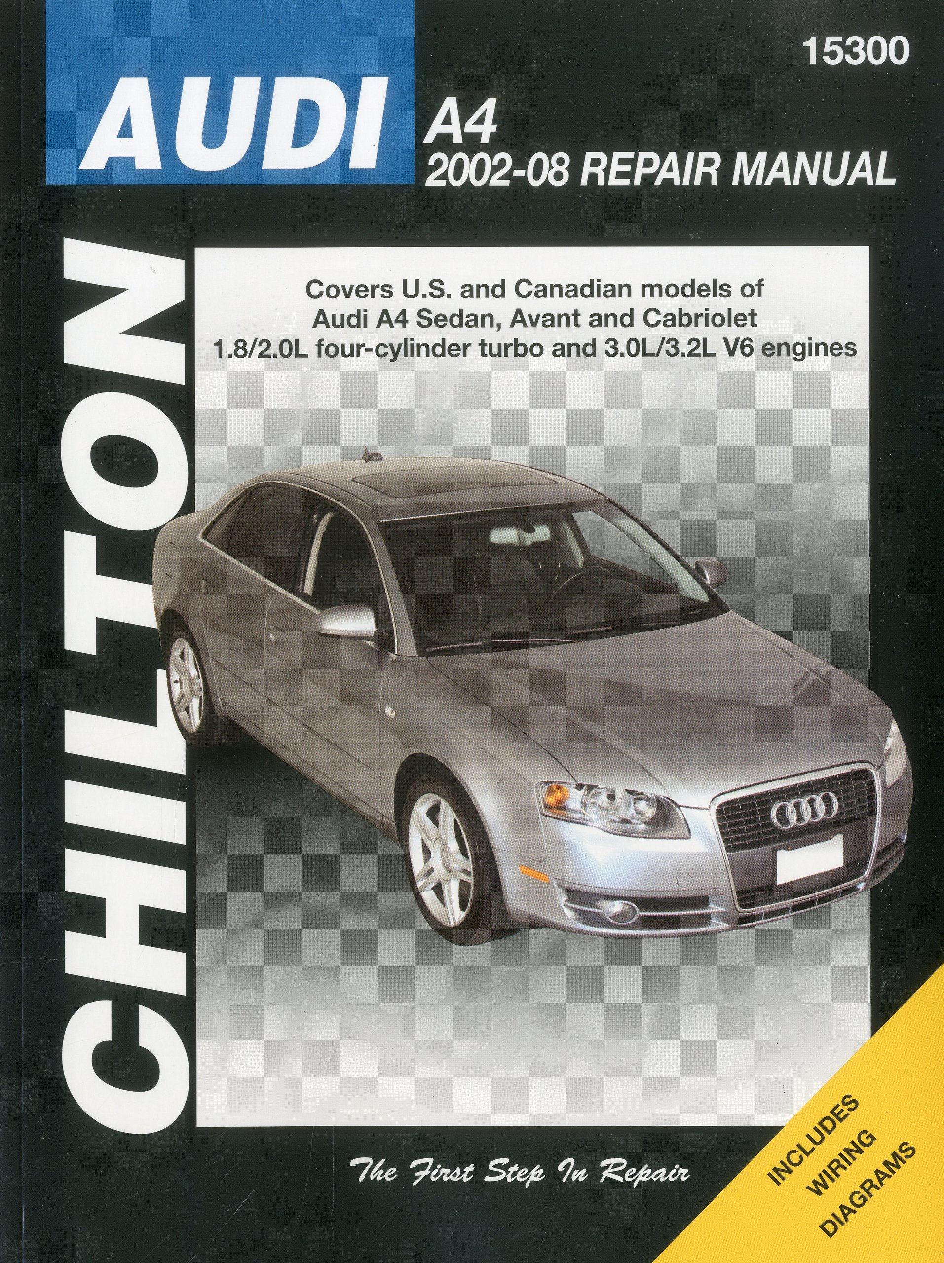 Audi A4 Sedan Avant 02 08 Chiltons Total Car Care Repair Manual 2004 1 8t Wiring Diagram Haynes Publishing Books