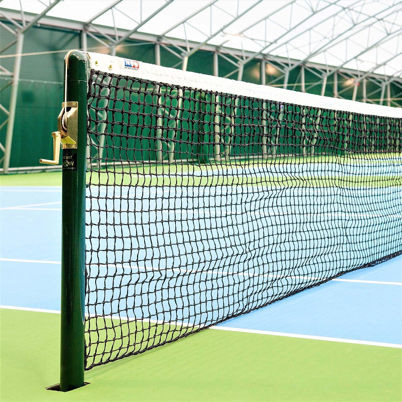 Vermont 3.5mm DT Championship Tennis Net [22lbs] – 42ft Doubles ITF Regulation : Sports & Outdoors
