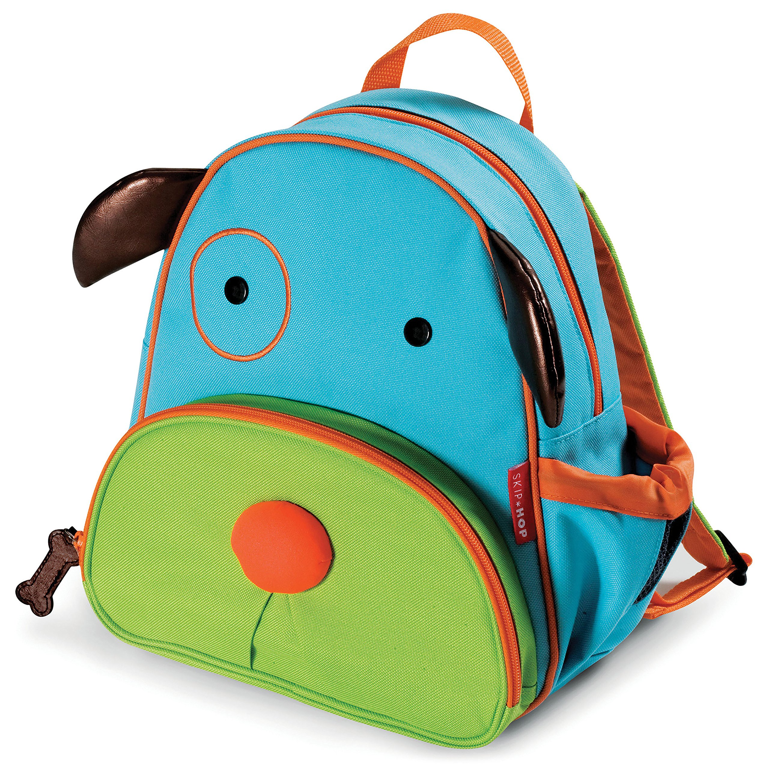 Zoo Insulated Toddler Backpack Darby Dog, 12'' School Bag,