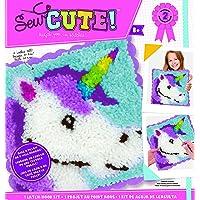 ColorBok 74195 - Kit de ganchos para coser con diseño de unicornio, multicolor