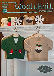 Christmas Knitting Patterns For Babies.King Cole Knitting Pattern 3804 Baby Toddler Christmas