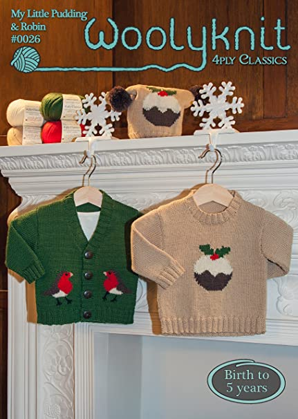 0026 My Little Pudding Robin Knitting Pattern By Woolyknit