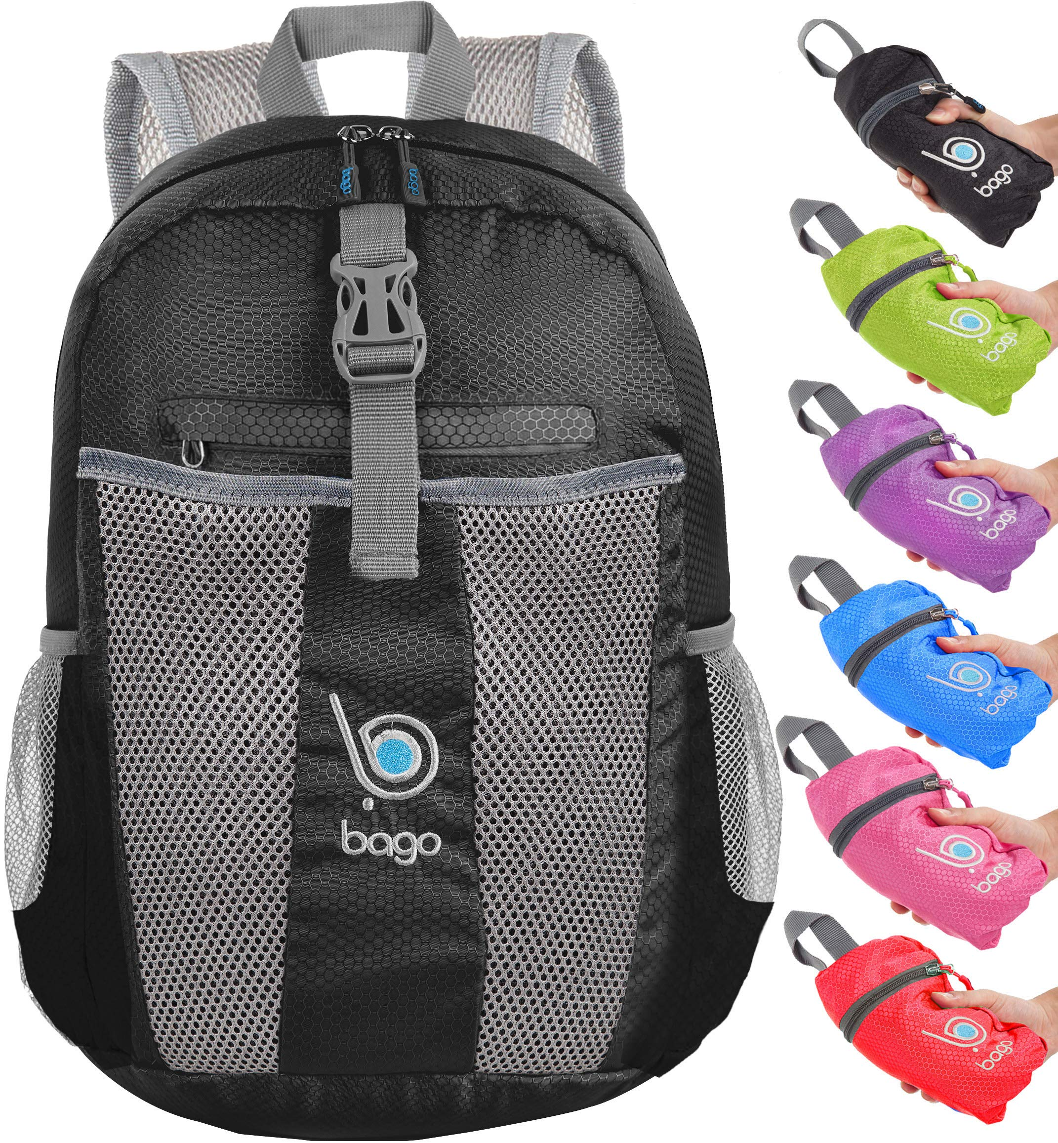 bago 25L Lightweight Packable Backpack - Water Resistant Travel Hiking  Foldable Camping Outdoor Backpack product image 83cebfd31581d