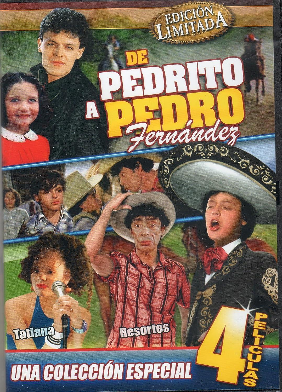 Amazon.com: De Pedrito a Pedro Fernandez [4 Peliculas] El Oreja Rajada & Vacaciones De Terror 1 & Vacaciones De Terror 2 & Cronica De Un Crimen: Movies & TV