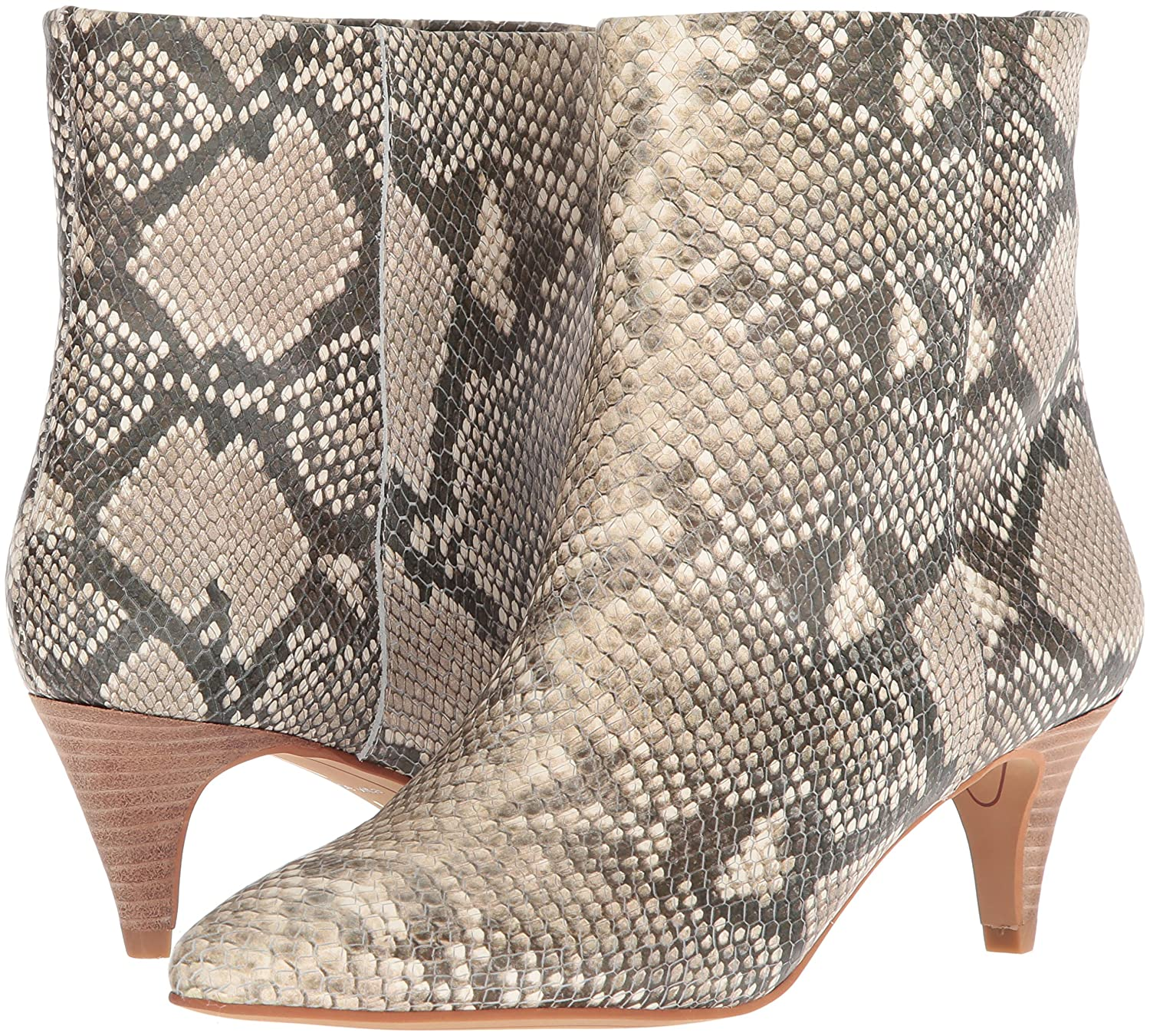 Dolce Vita Women's Deedee Ankle Boot Print B079Q9LJSK 6 B(M) US|Snake Print Boot Embossed Leather 7f2f5a