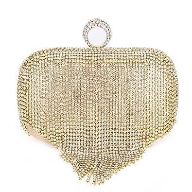 589fccc73a0 Clocolor Crystal Clutch Purses Evening Clutch Bag Rhinestone Series-Dazzling  Ring Evening Bags for Wedding Party Purses: Handbags: Amazon.com