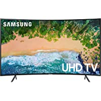 Deals on Samsung UN65NU7300FXZA 65-inch Smart Curved UHD TV