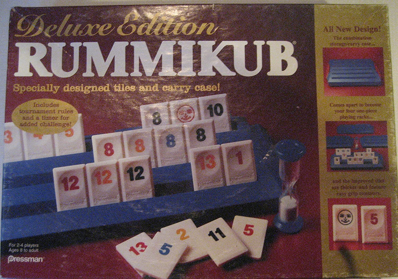 Deluxe Edition Rummikub by Pressman Toy: Amazon.es: Juguetes y juegos
