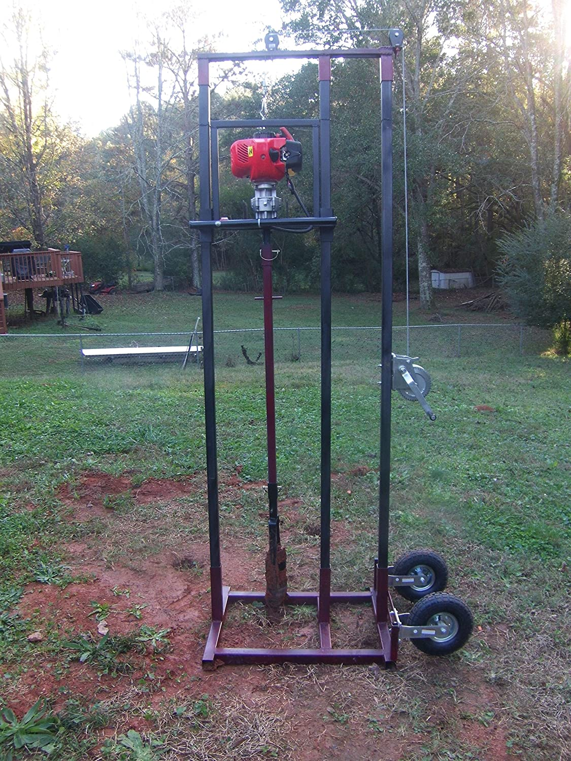 I think this is a pretty need rig for the DIY but at right around $1,600 it is a bit pricy. At the same time you get a well drilling rig that ...