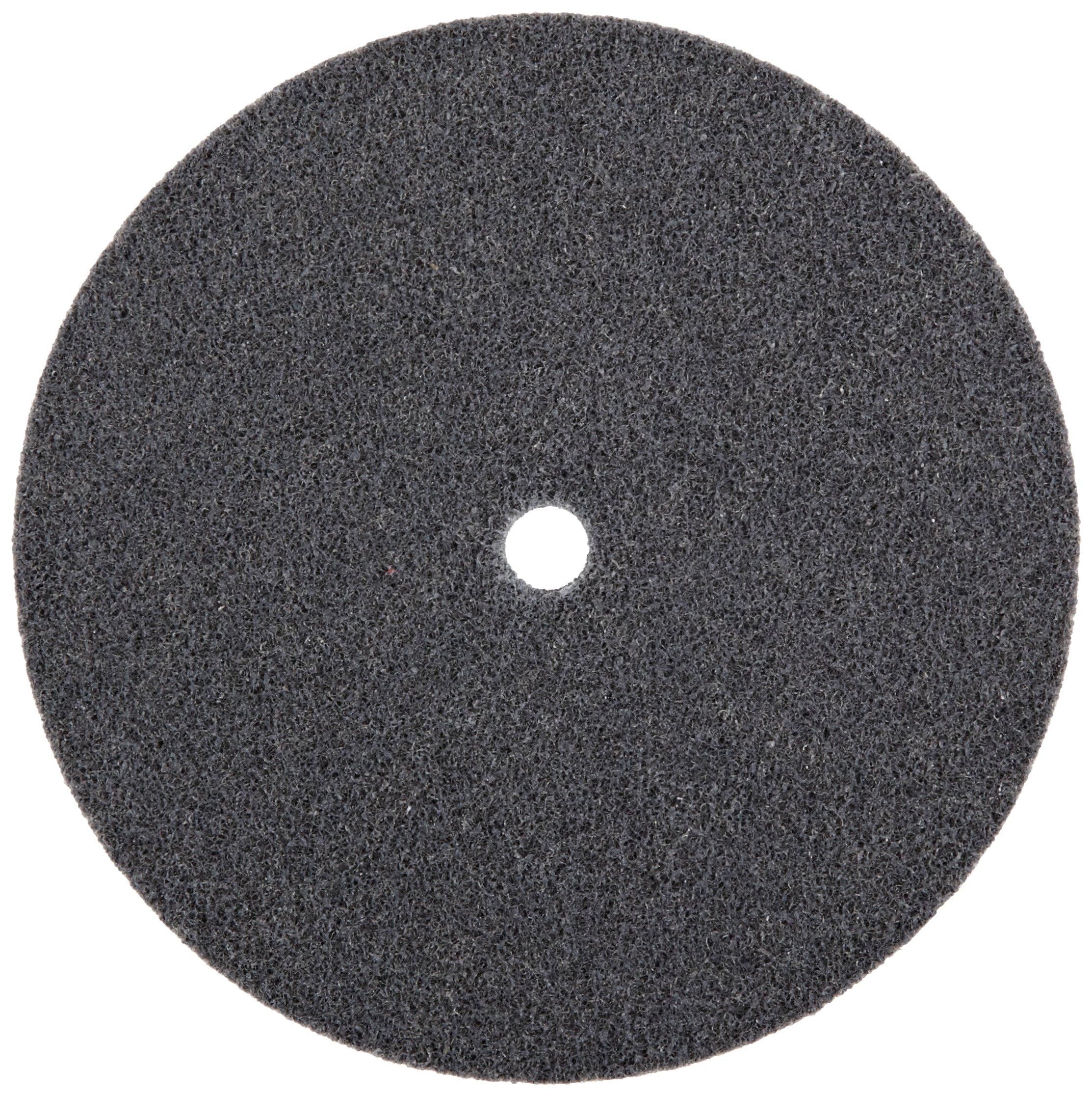 Scotch-Brite(TM) EXL Unitized Wheel, Silicon Carbide, 5000 rpm, 6 Diameter, 1/2 Arbor, 2S Fine Grit  (Pack of 4) by Cubitron