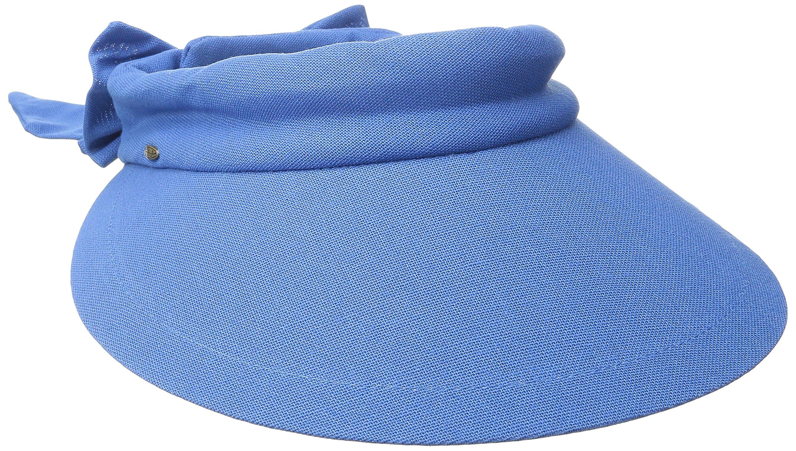2c91e1fe352 SCALA Visor with Big Brim – Large Visor Hat – Big Brim Sun Hats for Women