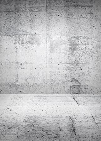 White Concrete Wall Backdrop Old Vintage Light Grey Bright Rustic Cement Room Gray Retro