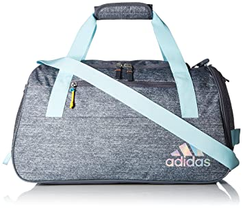15a4e93a12a adidas Squad III Duffel Bag, One Size, Clear Aqua Onix Sun Glow  Amazon.in   Bags, Wallets   Luggage