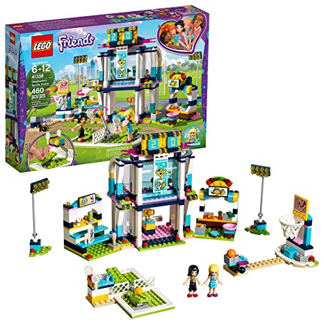 Amazon.com: LEGO Friends Stephanie's Sports Arena 41338 Building Set ...