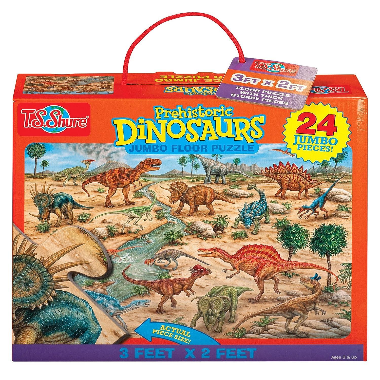 liquidación hasta el 70% T.S. Shure prehistóricos dinosaurios Jumbo Puzzle para para para suelo  Venta al por mayor barato y de alta calidad.