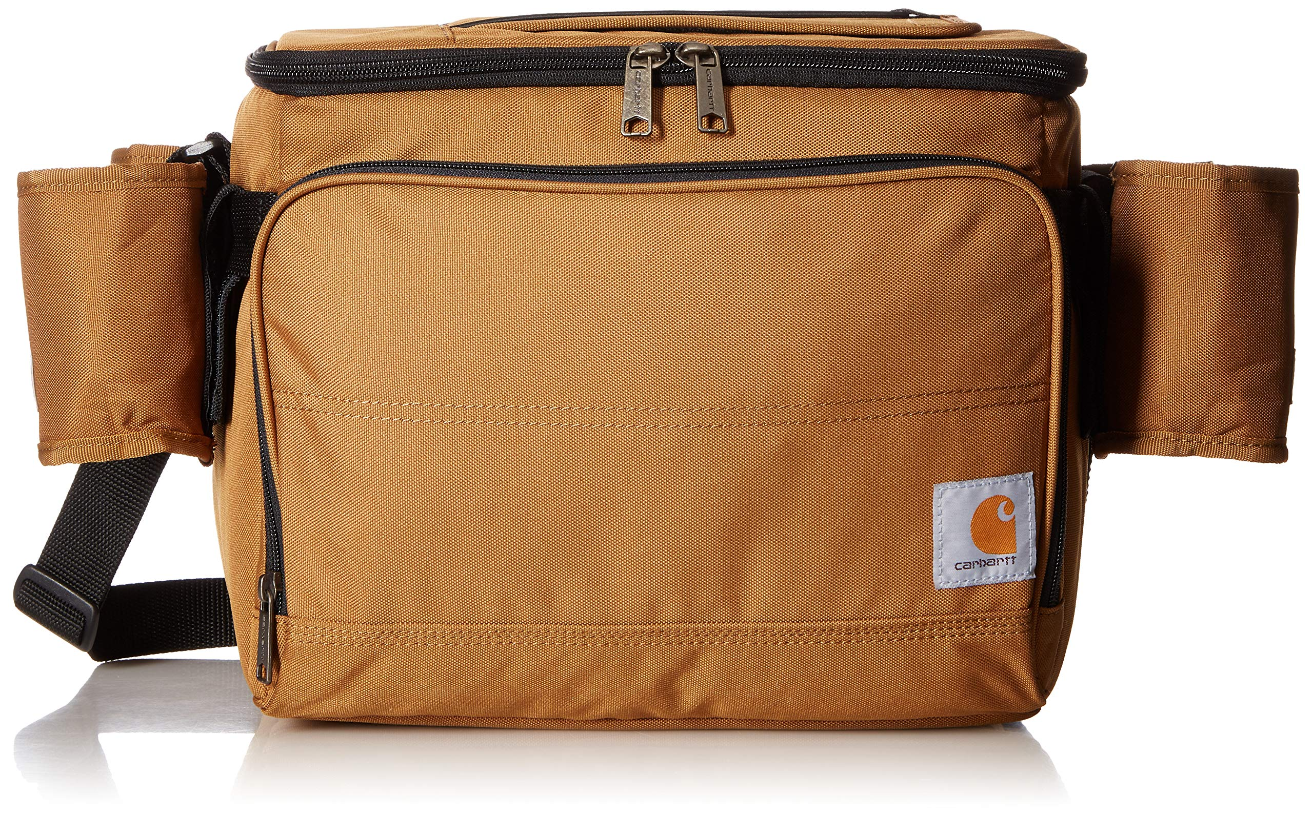 Carhartt Deluxe Cooler Bag with 4 Detachable Insulated Beverage Sleeves by Carhartt